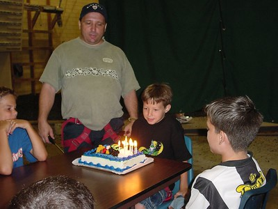 Birthday Cake Lit