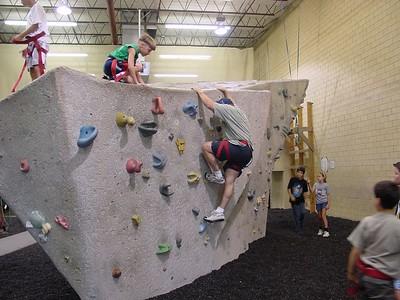 Dad Climbs The Rock