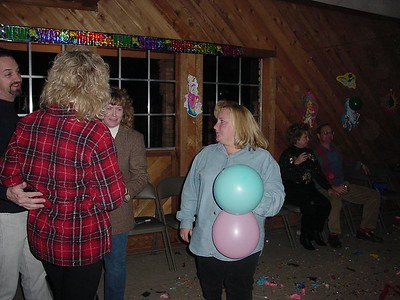 Mom - Rescuing Balloons from Sure Destruction!
