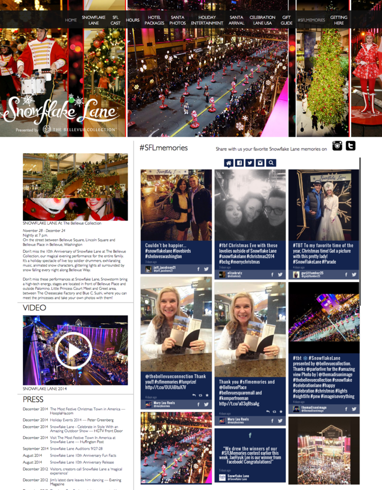 The Bellevue Collection - Snowflake Lane