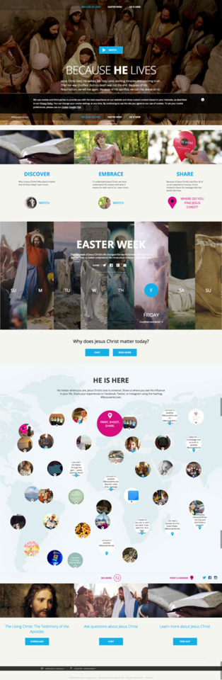 Mormon.org Because He Lives Easter 2015