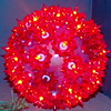Red Holiday Light Ball