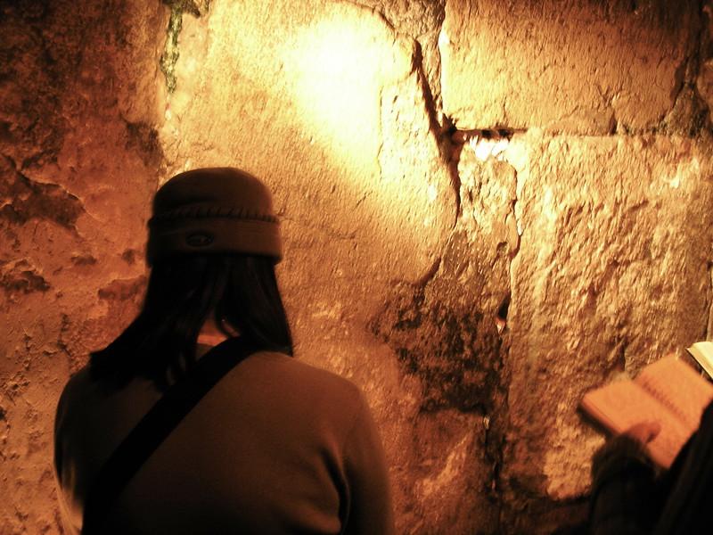 Praying at the Wall