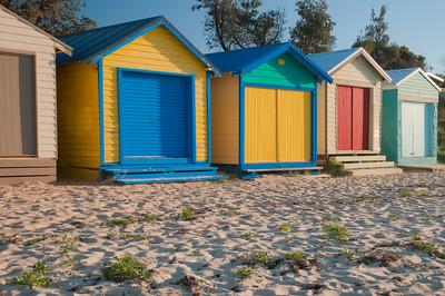 Dromana Beach Shacks