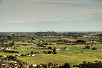 Mt Shank from Mount Gambier summit