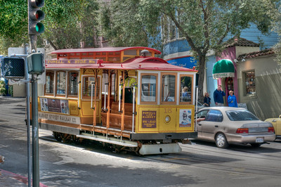 SF Trolley Car