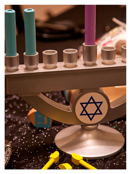 Kid-Friendly Menorah by KidKraft