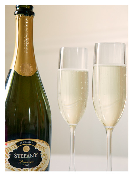 Two Glasses of Stefany Prosecco