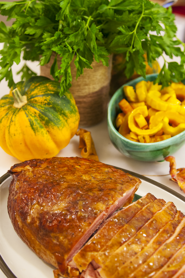 Smoked Turkey Breast from The Salt Lick with Roasted Delicata Squash for an Effortless Thanksgiving Celebration