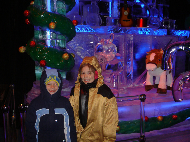 "Lexi and Reid and ""Ice"" at the Gaylord Texan."