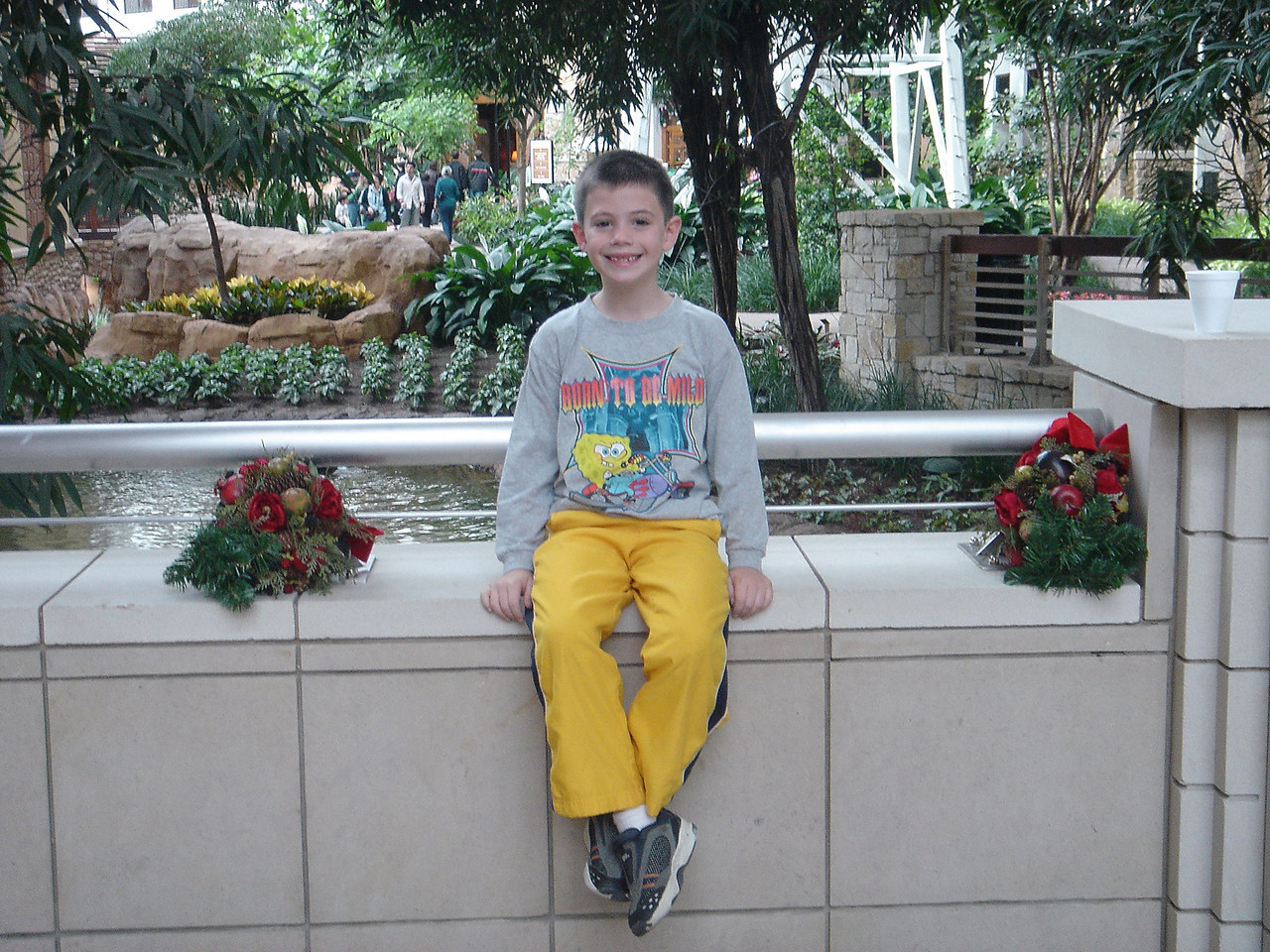 Reid at the Gaylord Texan
