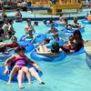 Debby High — For Montgomery Media<br /> Menlo Aquatics Center's lazy river is a hit for relaxing and cooling off on Memorial Day.