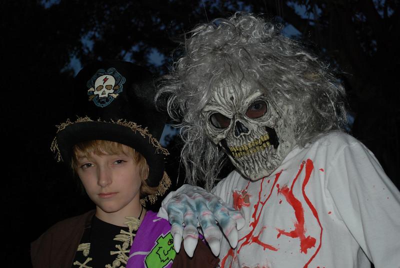 Reid and Brandon...before the big hunt.