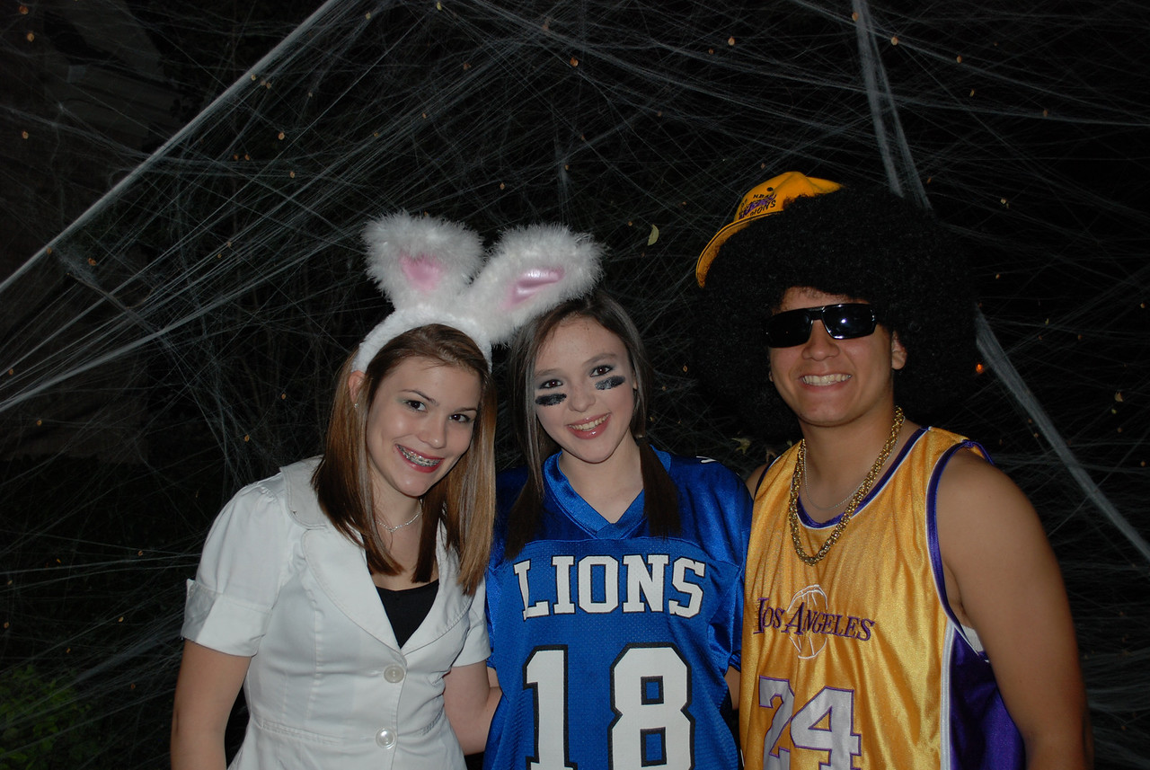Lexi, Katelyn and Josh (no Cody...he was sick!)