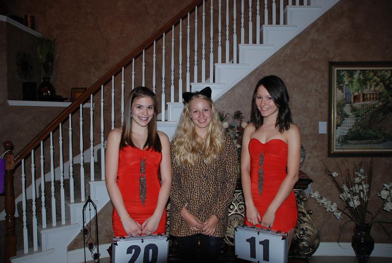 Lexi, Alex and Daphne.