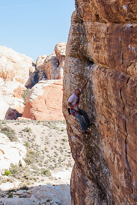 Porter off Loki 5.12a, Sonic Youth Wall Red Rocks