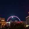 Las Vegas in the full moon