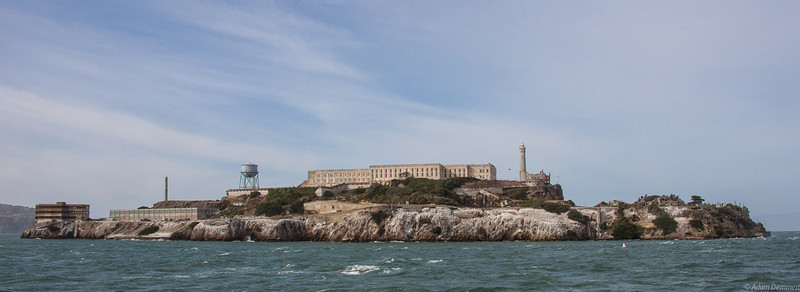 Alcatraz from the ferry