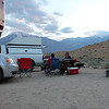 Relaxing at Camp in Bishop<br /> Photo By Chris Pegelo