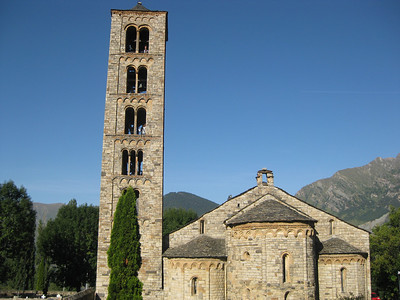 11th century church in Taull