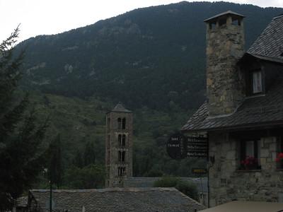 11th century UNESCO church, Taull