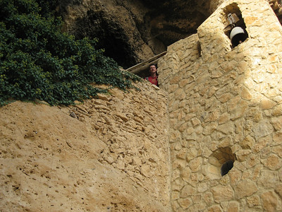 Very old mountain top church built in to the rock - Margalef