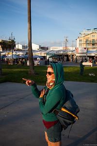 Ruth at Venice beach