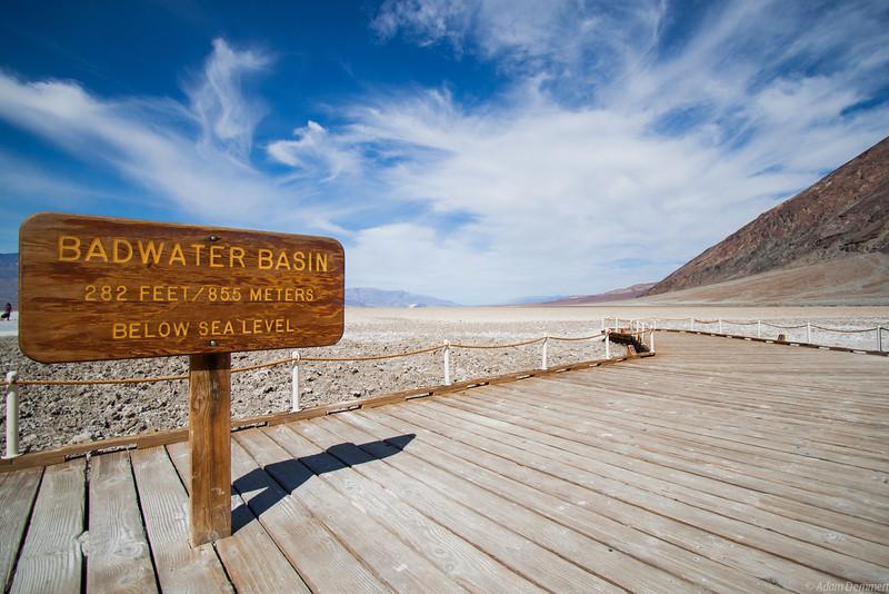 Bad Water 85.5m below sea level