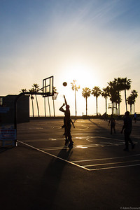 Basket ball at Venice beach