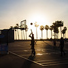 Basket ball at Venice beach