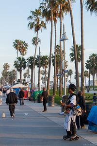 Crazies on Venice beach