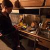Van Life Cath cooking dinner!