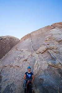 Cath ready to do battle with Bird of Fire 5.10a a 5 star route.