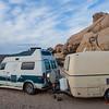 Van Life - our Van with Kyle and Leslie's cute Trillium Van
