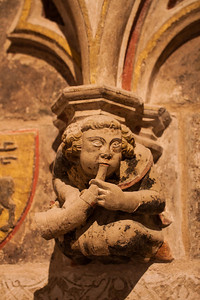 Who says religion doesn't have a sense of humour - Tarragona Cathedral
