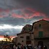 Spectacular sunset at Abella de la Conca