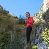 Meg with me on the photographers ledge