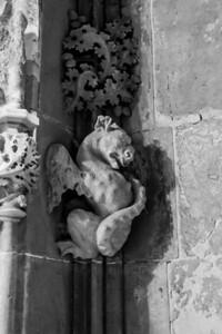 Devils everywhere - Tarragona Cathedral