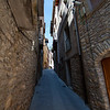 Small little streets in Catalunya Spain