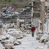 Cath amongst the ruins Ephesus