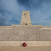 Lone pine memorial for the ANZAC troops