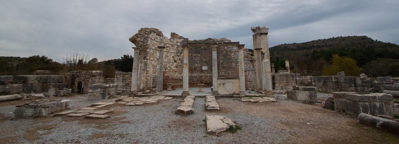 Ruins of the church of st John, Selçuk