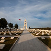 The Turkish memorial from the Gallipoli battle
