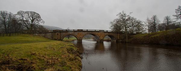 Bridge to Chatsworth House