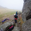Dave and Hannah racking up on Hay Tor in primo conditions