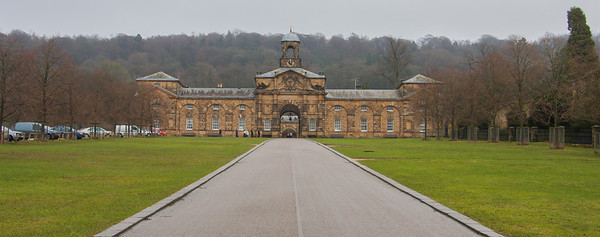 Chatsworth House - Stable entrance
