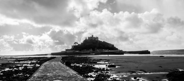 Saint Michael's Mount of the Cornwall coast