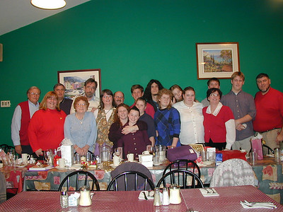 Antrobi Christmas Gathering and Dinner - 12/17/2000