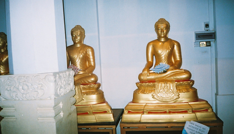 Statues At Temple Of The Tooth, Kandy