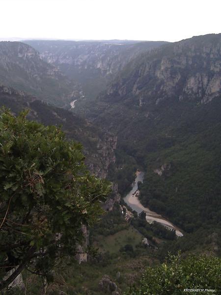 Cirque des Baumes dans les Gorges du TARN depuis le Point Sublime